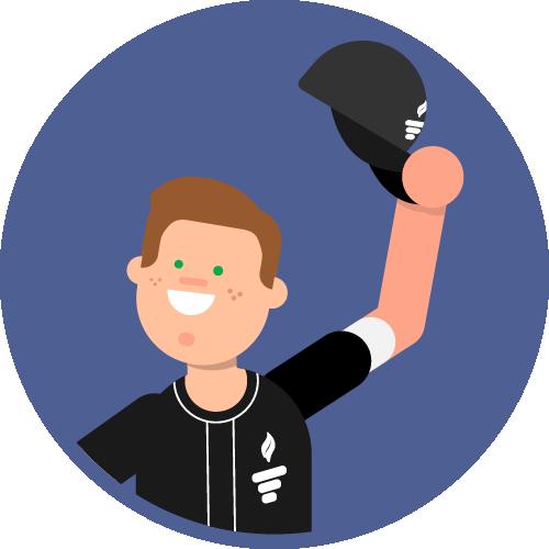 Dot Pixel - We Compete - Illustration - Tip of the Hat
