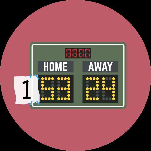 Dot Pixel - We Compete - Illustration - Scoreboard