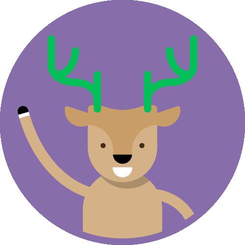 Dot Pixel - We Compete - Illustration - Deer