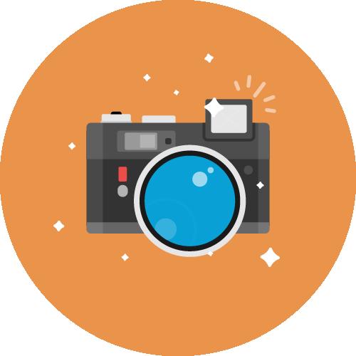 Dot Pixel - We Compete - Illustration - Camera