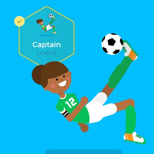 Dot Pixel - We Compete - Illustration - Captain