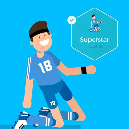 Dot Pixel - We Compete - Illustration - Superstar
