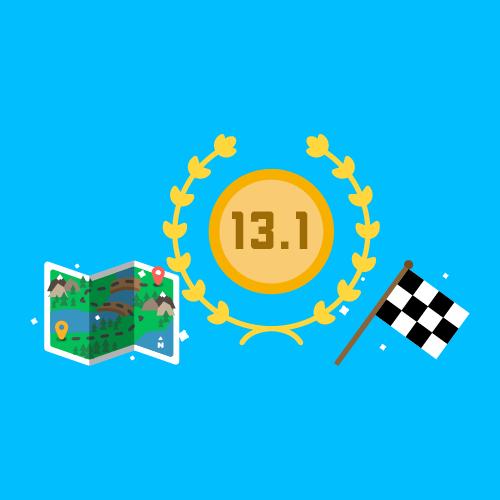 Dot Pixel - We Compete - Illustration - Map, 13.1, Checker Flag