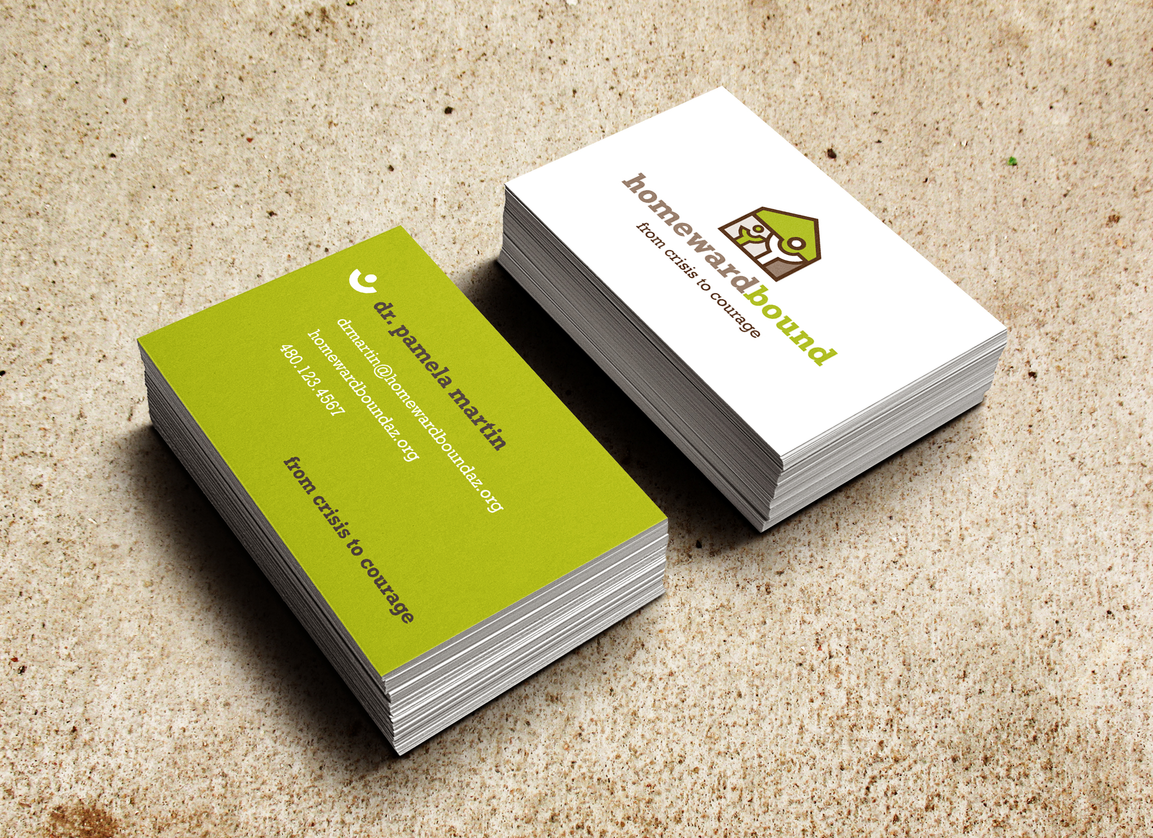 Dot Pixel - Homeward Bound Logo Design and Business Cards