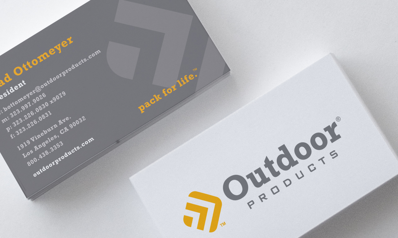 Dot Pixel - Outdoor Products Business Cards