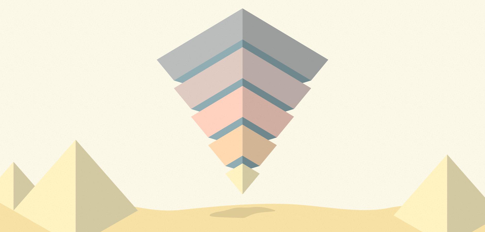 Dot Pixel - Illustration - Marketing Funnel