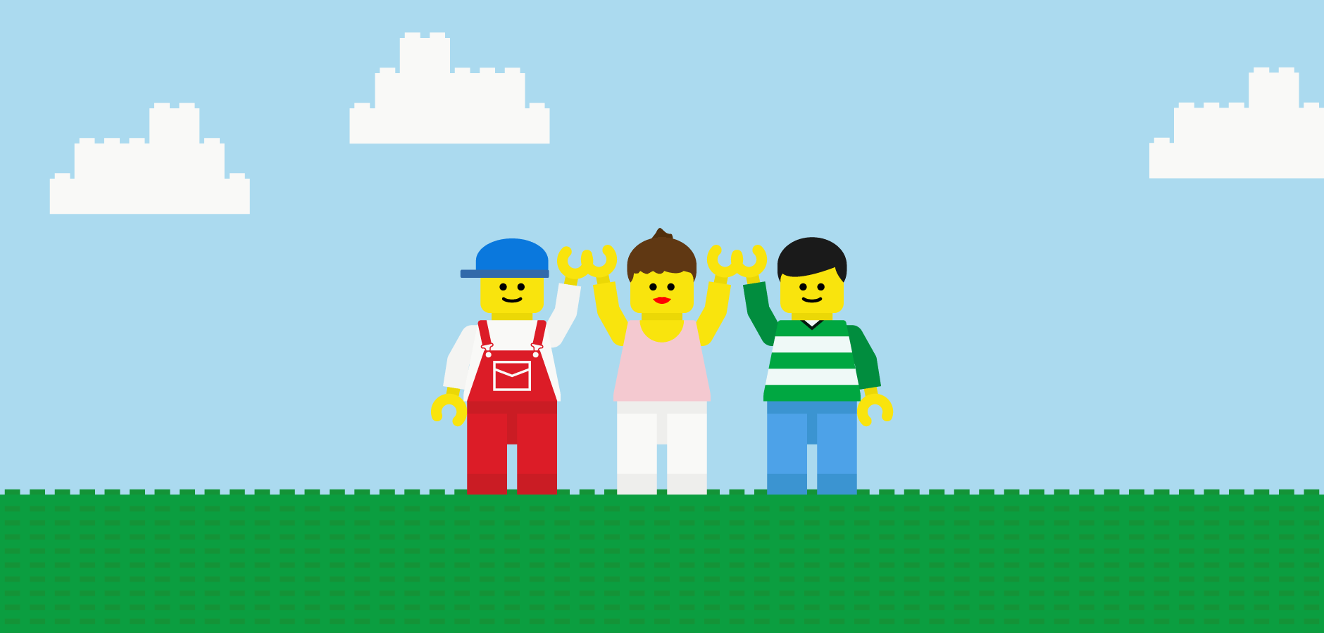 Dot Pixel - Illustration - Lego Pals