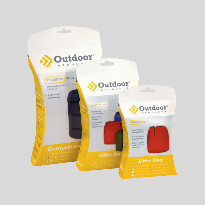 Dot Pixel - Outdoor Products New Packaging Design