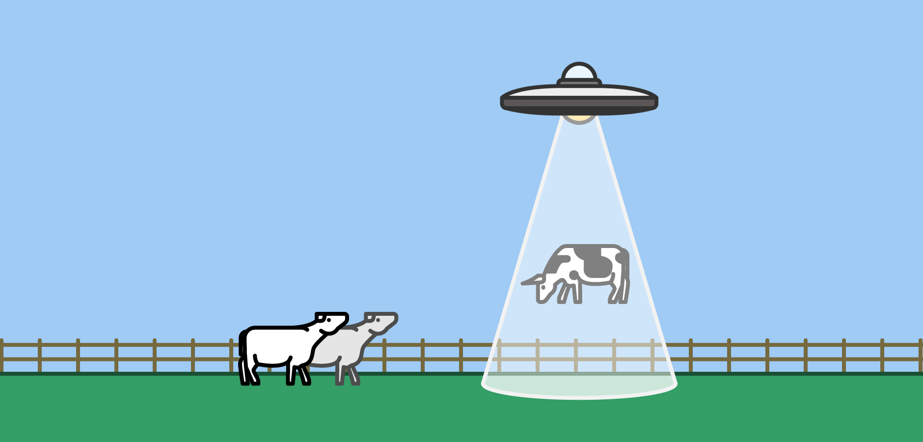 Dot Pixel - Illustration - UFO