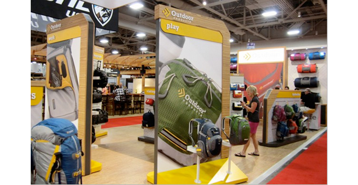 Dot Pixel - Outdoor Products - Tradeshow Booth Design