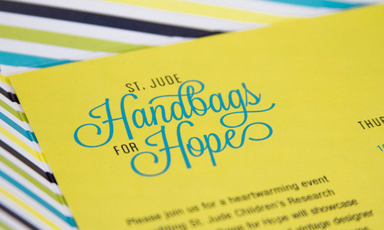 Dot Pixel - St. Jude Handbags for Hope Collateral Design Closeup